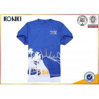 Cotton Short Sleeve Quick dry t shirt offset print running Custom T Shirt t shirt for marathon