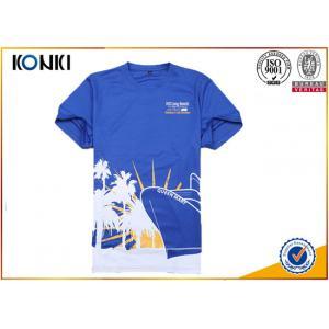 China Cotton Short Sleeve Quick dry t shirt offset print running Custom T Shirt t shirt for marathon supplier