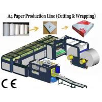 High Speed A4 Size Paper Cutting Machine With Servo Motor 16~18 Packs / min