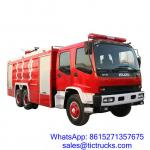 China ISUZU 12000L 280HP Fire Fighter Truck 6 x 4 for sale_ wholesale