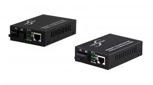 China LFP USB Fiber Optic Media Converter 10 100base Tx To 100base Fx Media Converter on sale