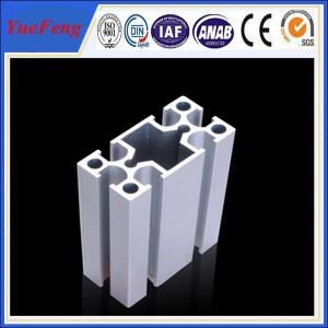 China 6063 Industrial anodized aluminium extruded profiles on sale