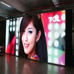 Indoor Full Color Stage Rental Led Display 3.91mm Pixel Clear Aluminium Cabinet