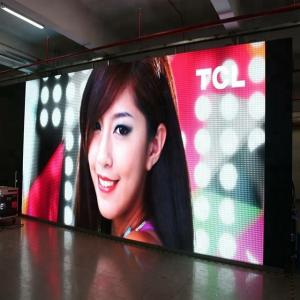 China Indoor Full Color Stage Rental Led Display 3.91mm Pixel Clear Aluminium Cabinet supplier