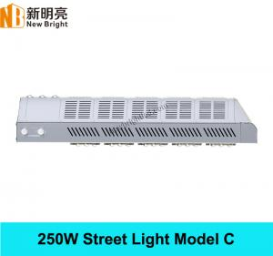 China 250W high power newest design led street light head with MEANWELL Driver on sale