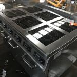 Induction Catering Equipment Electric Cooking Range 14kw RoHs Approved