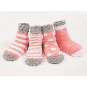 China Cotton soft knitted Warmer Baby Girl and Boy Socks on sale