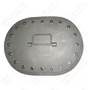China Custom Cast Iron Manhole Cover on sale