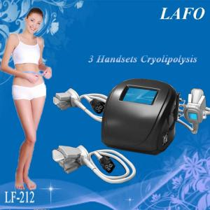 China HOTTEST!!! 3 handles Portable Cryotherapy Machine Whole Body on sale