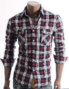 China Smart Mens Cottton Dress Shirts on sale