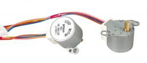 China 12v DC Stepper Motor Controller / 25mm Permanent Magnet Stepper Motor 25SPG With 180g.cm Holding Torque on sale