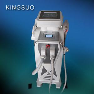 China 3 handles Elite RF intense pulse light IPL Laser for hair removal machine on sale