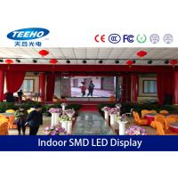 1R1G1B HD Indoor SMD LED Display Panel With Light Weight Cabinet , P7.62