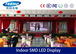 China 1R1G1B HD Indoor SMD LED Display Panel With Light Weight Cabinet , P7.62 on sale