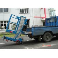 8 Meter Working Height Mobile Elevating Work Platform With 136 kg Rated Load