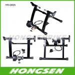 HS-Q02A Low Noise Sturdy Frame Steel wire Magnetic Indoor Bike trainers