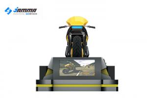 China 1500w Online VR Motorcycle Simulator With 24 LED Screen Galvanized Steel Frame on sale