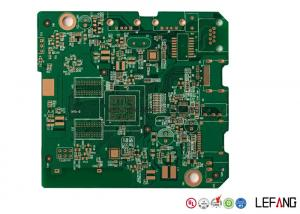 China 4 Layers 1.0mm Bluetooth Communication PCB Power Board 1 Oz / 35 µM Copper Thick on sale