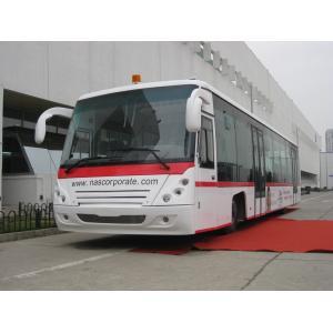 China PPG Painting Diesel Engine 14 Seat Aero Bus Apron Passenger Bus on sale