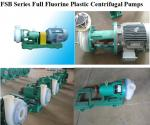 Full Fluorine Plastic Alloy Centrifugal Pump
