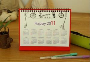 China 2013 Year Custom Calendar Printing 14 Pages UV Varnish on sale