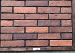 China Thin Decorative Faux Wall Brick , Ceramic Faux Brick Panels Outdoor on sale