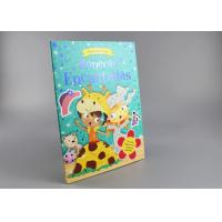 China Blue Gold Foil Stamping Board Books For Toddlers , Cartoon Figure Kids Board Books on sale