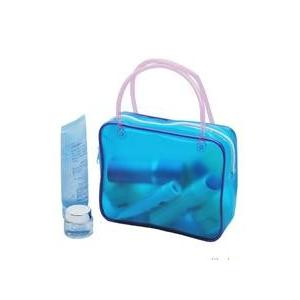 China Double handle Inflatable tooth brush PVC handbag for girls travel on sale