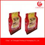 Flat Bottom Bags For Sugar / Tea / Coffee / Meat Packaging square bag