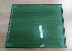 China Green Laminated Float Glass , One Way Reflective Glass Easy Maintenance on sale