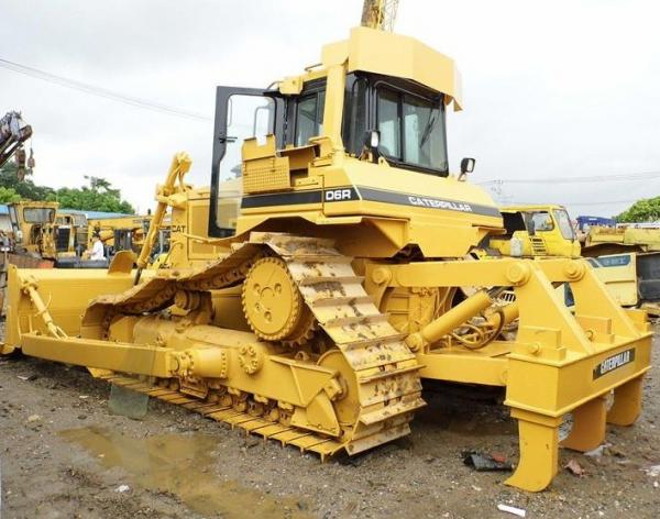 Used CAT Bulldozer CATERPILLAR D6R LGP WITH RIPPER /CAT D6 D7 Dozer