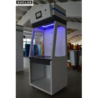 China Steel Structure Ductless Laboratory Fume Hood 6 PCS Filters For Exhausting Dust on sale