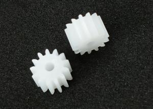 China 13 Straight Teeth Metric Spur Gears Plastic PMMA 6.5mm ISO Standard on sale