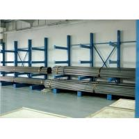China Customized Metal Single Sided Cantilever Rack , Construction Material Storage Racks on sale