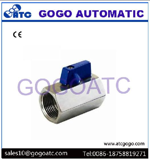 Mini Electric Ball Valve With Stainless Steel 1/2