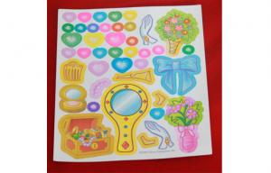 China Non-toxic Paper Cartoon Sticker / car decal stickers for Children on sale