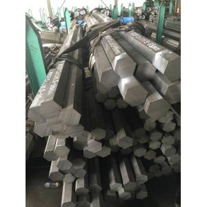 China 40 X 40 Cr Hexagonal Steel Bar /  Rod ,  Solid Square Steel Bar For Construction on sale