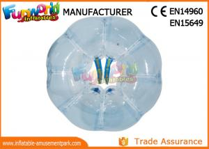 China Inflatable 0.8mm TPU Or PVC Zorb Ball / Air Grass Bumper Bubble Soccer Ball on sale