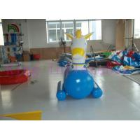 PVC Inflatable Water Toys / Funny Inflatable Water Ride / Water Horse For Water Parks