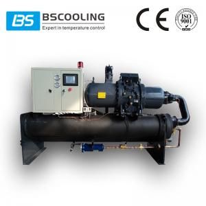 China Open type water cooled screw chiller with Hanbell compressor on sale