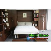 Twin Space Saving Transformable Wall Bed Bedroom Furniture With  Sofa