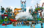 ホテルまたは遊園地装置のための巨大な屋外の巨大な水家のスライド水公園
