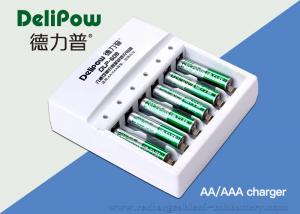 China 6 Slots Aa/Aaa Rechargeable Battery Charger For High Temperature Battery  on sale