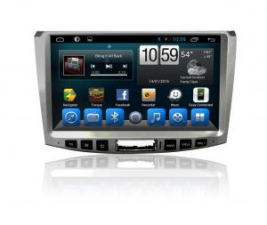China Double din In Android Car Navigation audio radio stereo bluetooth swc VW Magotan on sale