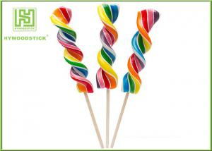 China Biodegradable Wooden Lollipop Sticks With Ball Hot Stamping Logo Printed on sale