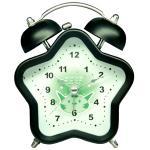 Пластиковые сетноые-аналогов часы двойн-колокола таблицы с красочным циферблатом