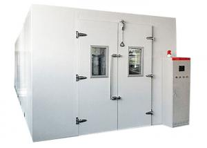 China Large Size Walk In Environmental Chamber , Climatic Test Chamber Temp Control -40℃ To 80℃ on sale