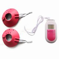Home Use Breast Enhancer Massager , Silicone Rubber breast vibration machine