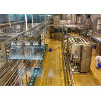China Commercial Sanitary Stainless Steel Tanks , Yogurt Manufacturing Equipment on sale