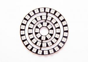 China Digital Addressable LED Module , RGB High CRI LED Module With WS2812 SMD 5050 Chip on sale